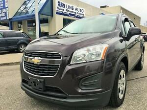 2014 CHEV TRAX*6 SPEED MANUAL TRANSMISSION/BLUETOOTH/CERTIFIED