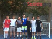 New teams wanted for 5aside leagues in London Bridge!