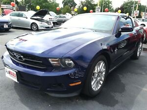 2012 FORD MUSTANG V6 PREMIUM - ALLOYS, BLUETOOTH, LEATHER INTERI