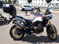 Honda afrca twin mint bike