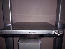 4 speaker panasonic dvd theater sound system