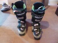 Salomon Quest ski boots uk size 8
