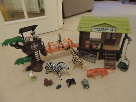 Animal Rescue Play Set with Animals
