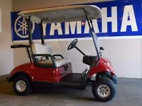 AS NEW YAMAHA G29A GOLF BUGGY DEMO HOURS ONLY