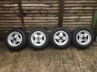 Genuine Supersport Fiesta Alloys Tyres and Original Nuts Included