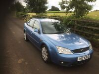 FORD MONDEO ZETEC 2003 TURBO DIESEL - FULL YEARS MOT - CHEAP CAR £595