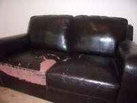 Brown sofa free