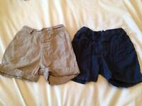 Baby Boys shorts 3-6 months