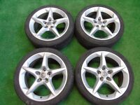 "VAUXHALL PENTA ASTRA, VECTRA, ZAFIRA, SIGNUM, SRI 18"" ALLOY WHEELS ( OUR REF 023 )"