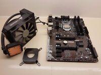i7 6700k CPU - Z170-A Pro Motherboard - 8GB DDR4 Vengence RAM - H45 Corsair Liquid Cooler bundle