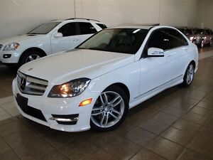 2013 Mercedes-Benz C-Class 300 4MATIC ONE OWNER.NAVIGATION.SUNRO