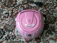 Bush pink cd player