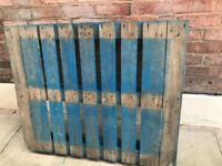 2 wooden pallets available for collection only