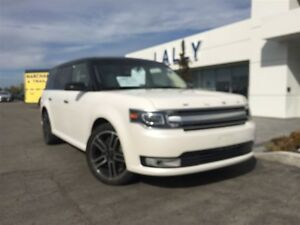 2014 Ford Flex Limited, AWD, Moonroof, Navigation, 64, 706 kms!! Windsor Region Ontario image 2