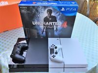 PlayStation 4 Slim, white or black or PS4 Games/Accessories