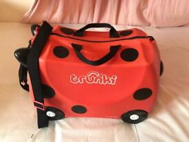 Trunki kids Ride On suitcase