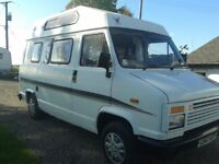 citroen c25 diesel campervan with 12 months mot