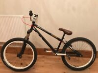 Dirt Jump bike, 24 rims, very good technical condition. + spare parts 270 obo
