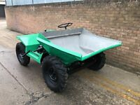 1 ton dumper, lister engine, good working order, new parts fitted