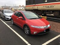 Honda Civic *Reduced*- Low mileage, Semi Auto, Panoramic Roof