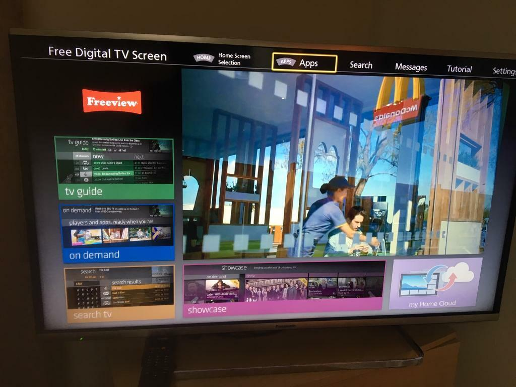 40INCHES PANASONIC TV WITH REMOTE IN PERFECT WORKING CONDITIONS | in  Springburn, Glasgow | Gumtree