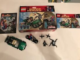 Lego 76004 Marvel Super Heroes Spiderman Spider-Cycle Chase