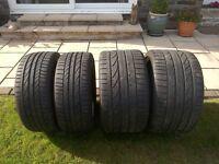 Audi R8 /Porsche Tyres