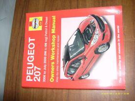 haynes manual peugeot 207 cc