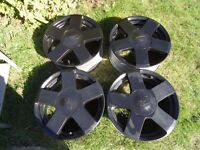 "15"" 4x Ford Fiesta Zetecs alloys wheels Original Escort Puma KA"