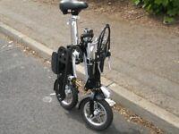 ebike electric fold up mini bike 12 inch