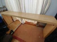 IKEA Malm Overbed Table, used.