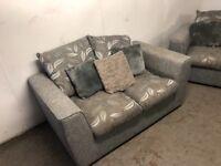 3 plus 2 grey sofas