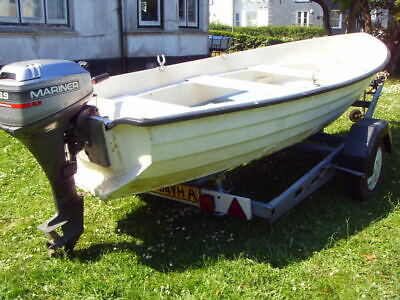 Bonwitco with 16ft fishing boat  Outboard  trailer