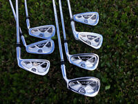 Wilson Staff FG V2 Tour Forged Irons 4-PW With KBS Tour Stiff Shafts