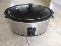 Morphy Richards 6L slow cooker used couple of times