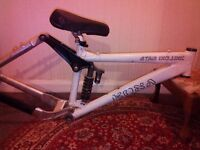 Kona stab deluxe 2004 downhill mountain bike frame
