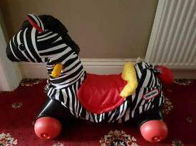 Little Tikes Rock N Scoot Zebra