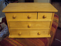 Chest of drawers for kitchen/house, small
