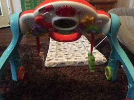 Vtech 3in1 play activity centre (play arch, play table and walker)