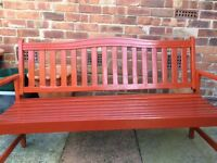 Garden bench 3 seater used