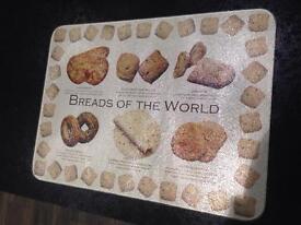 Glass Bread Board