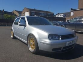 Mk4 golf 1.8t fully modified stunning car.. will swap for a van