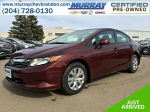 2012 Honda Civic LX FWD