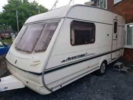Abbey aventura 2 berth caravan mint condition