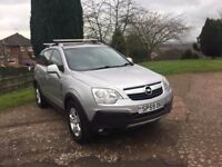 2009 (59) VAUXHALL ANTARA 20 CDTI DIESEL 4+4 5 DOOR HATCH BACK FULLY LOADED NEW CAM BELT