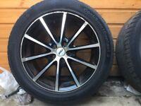 Alloy wheels 4x250/50/17