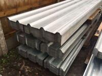 🌩2.4M Galvanised Box Profile Roof Sheets