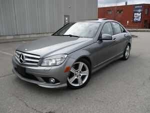 2010 Mercedes-Benz C-Class C300 4MATIC NAV SUNROOF FULLY LOADED