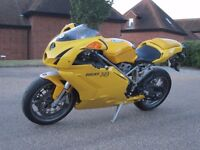 DUCATI 749 LOVELY YELLOW CLEAN