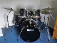 Premier Cabria APK with drum stool, music stand and drum sticks. Used but in Excellent Condition!